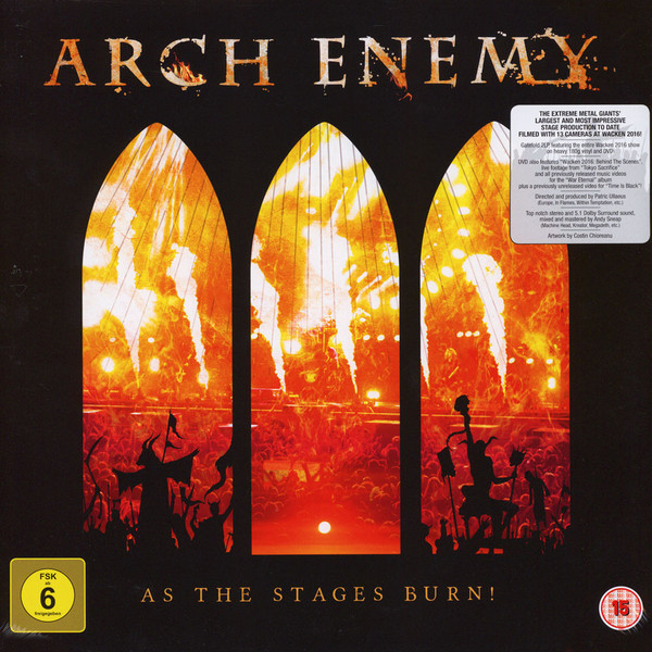 "ARCH ENEMY ""As The Stages Burn!"""