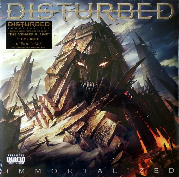 """DISTURBED """"Immortalized"""""""