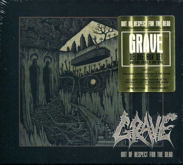 """GRAVE """"Out Of Respect For The Dead"""""""