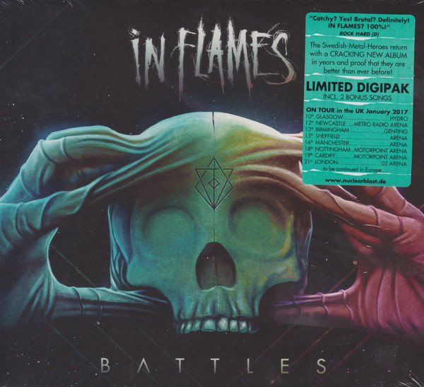 "IN FLAMES ""Battles"""