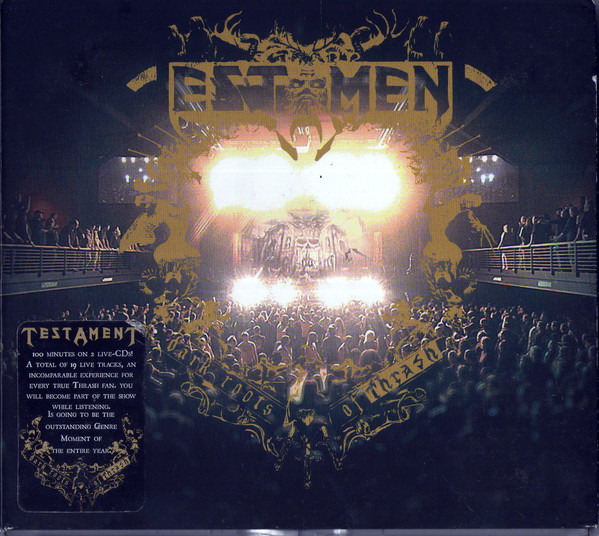 "TESTAMENT ""Dark Roots Of Thrash"""