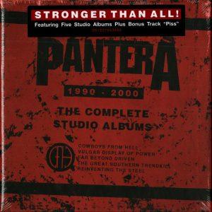 "PANTERA ""The Complete Studio Albums 1990-2000"""