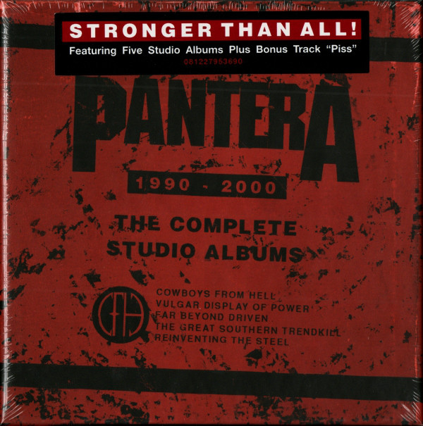 "PANTERA ""The Complete Studio Albums 1990-2000"""