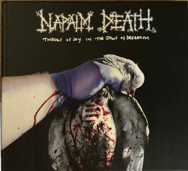 "NAPALM DEATH ""Throes Of Joy In The Jaws Of Defeatism"" LP"