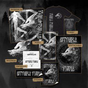 "BUTTERFLY TEMPLE ""Волчье Солнце"" (BOX CD)"