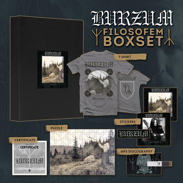 "BURZUM ""Filosofem BOX"""
